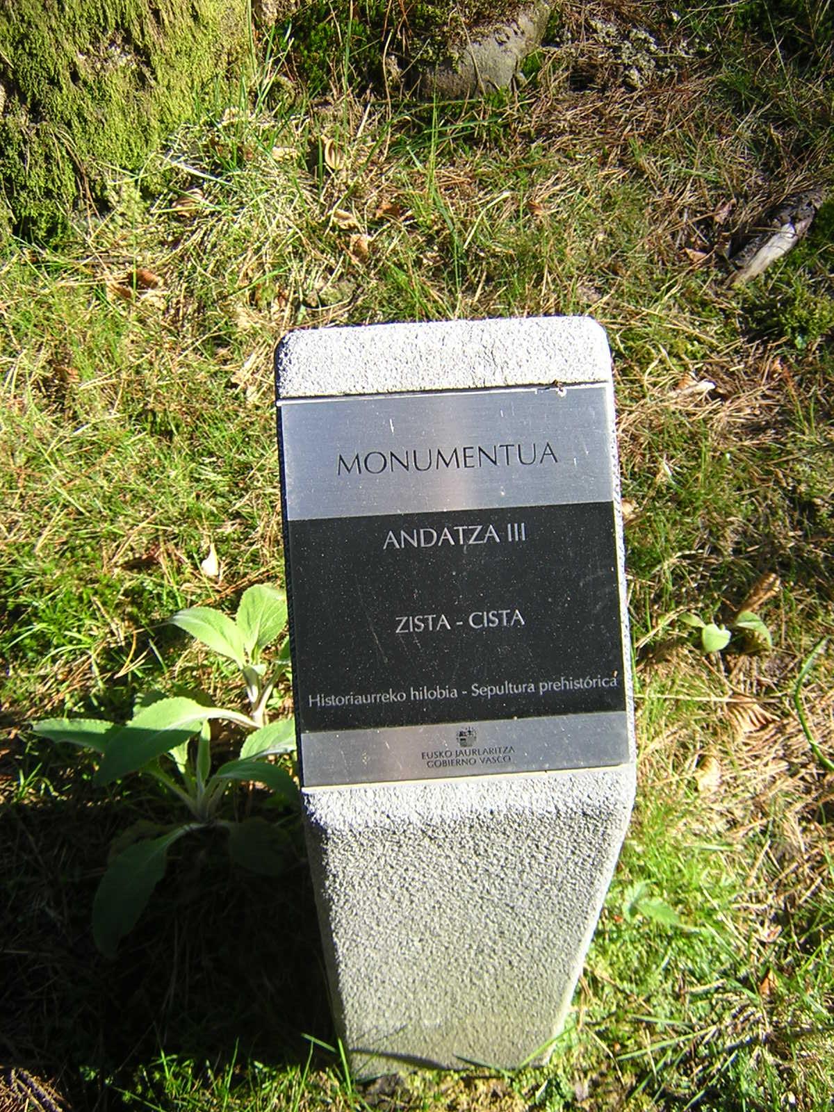 Cista Andatza 3 Zista