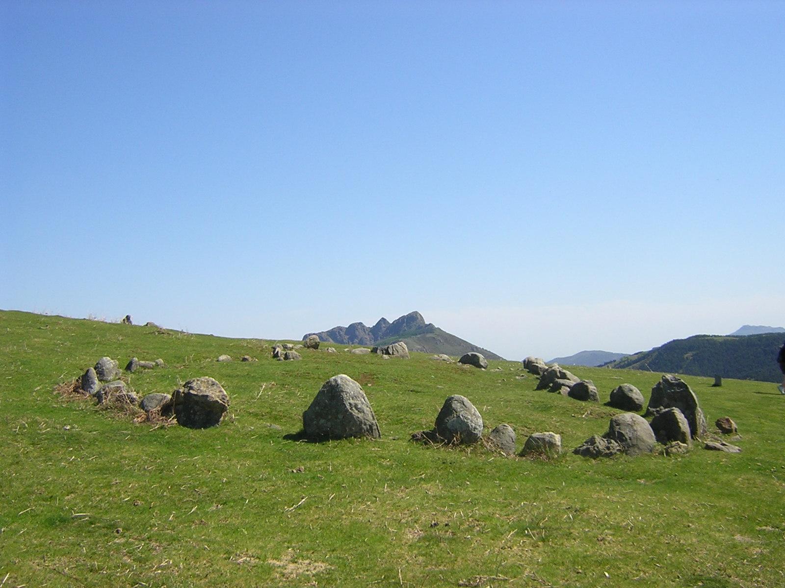 Cromlech Oianleku norte Mairubaratza