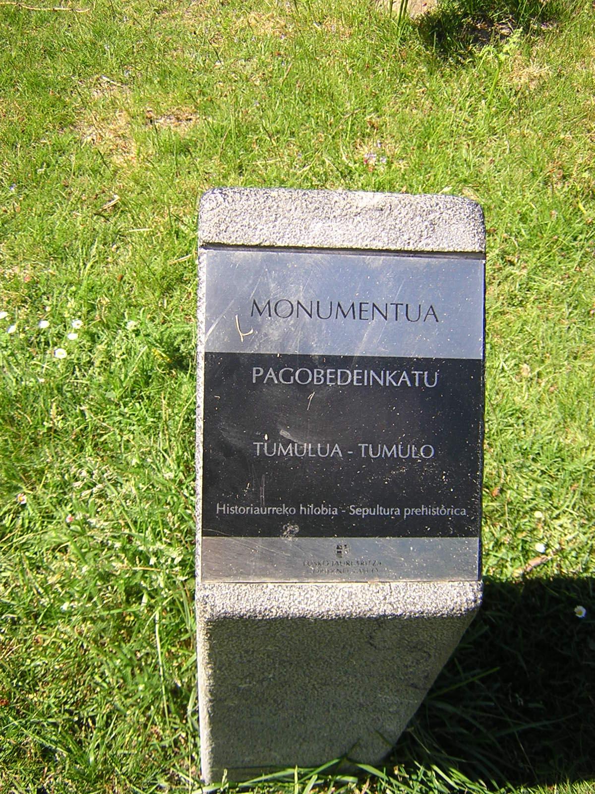 Túmulo Pagobedeinkatu Tumuloa